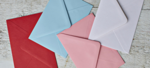 Coloured Envelopes Image Banner