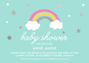 Gender Neutral Baby Shower Invitations Sleepymoon Cards