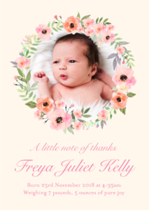 Baby Thank You Cards Ireland Sleepymoon Cards